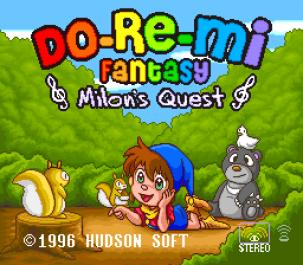 Do-Re-Mi Fantasy SNES 001