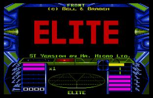 Elite Atari ST 01