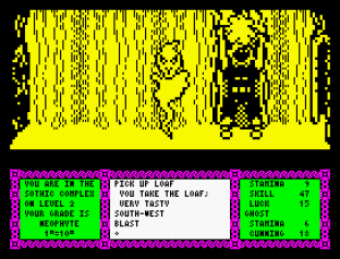 Heavy On The Magick ZX Spectrum 09