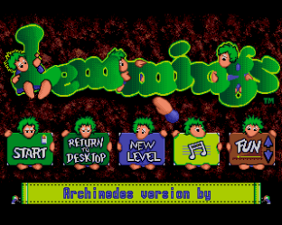 Lemmings Archimedes 01