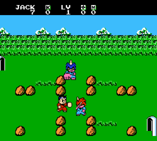 Little Ninja Brothers NES 009