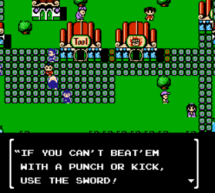 Little Ninja Brothers NES 012