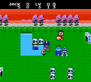 Little Ninja Brothers NES 045