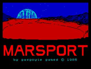 Marsport ZX Spectrum 01