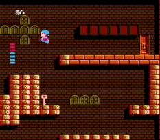 Milon's Secret Castle NES 10