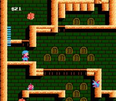 Milon's Secret Castle NES 66