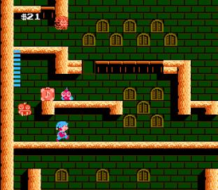 Milon's Secret Castle NES 67
