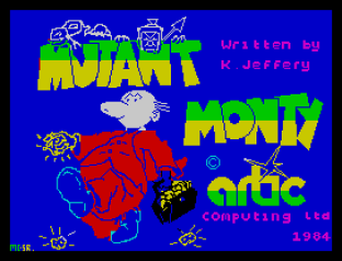 Mutant Monty ZX Spectrum 01
