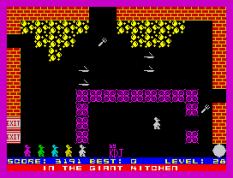 Mutant Monty ZX Spectrum 32