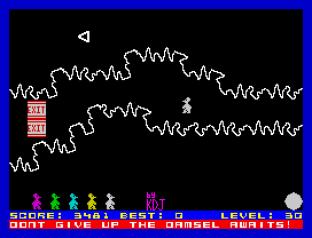 Mutant Monty ZX Spectrum 34