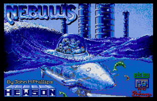 Nebulus Atari ST 01