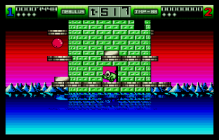 Nebulus Atari ST 45