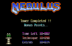 Nebulus Atari ST 55