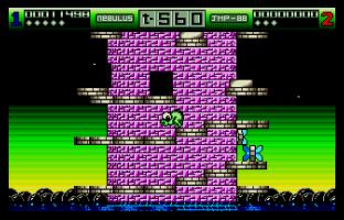 Nebulus Atari ST 64