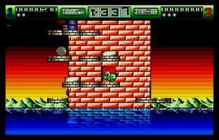 Nebulus Atari ST 67