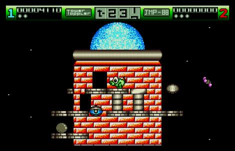 Nebulus Atari ST 70