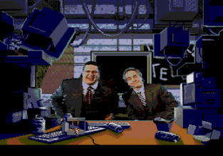 Penn & Teller's Smoke and Mirrors Sega CD 31