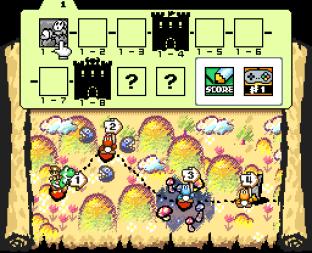 Super Mario World 2 - Yoshi's Island SNES 009
