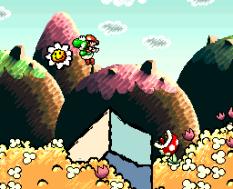 Super Mario World 2 - Yoshi's Island SNES 011