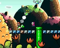 Super Mario World 2 - Yoshi's Island SNES 022