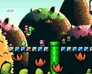 Super Mario World 2 - Yoshi's Island SNES 023