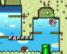 Super Mario World 2 - Yoshi's Island SNES 044
