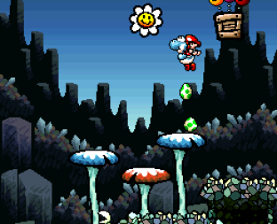 Super Mario World 2 - Yoshi's Island SNES 053