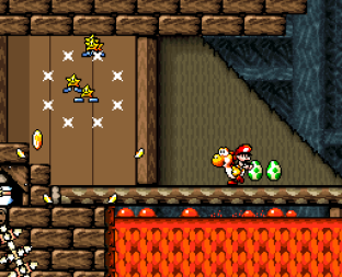 Super Mario World 2 - Yoshi's Island SNES 075
