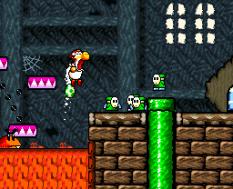 Super Mario World 2 - Yoshi's Island SNES 082
