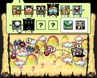 Super Mario World 2 - Yoshi's Island SNES 122
