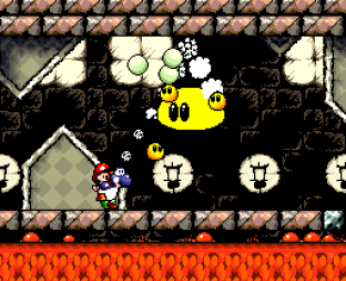 Super Mario World 2 - Yoshi's Island SNES 154