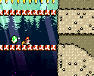 Super Mario World 2 - Yoshi's Island SNES 166