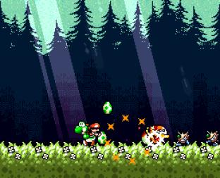 Super Mario World 2 - Yoshi's Island SNES 176