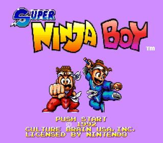 Super Ninja Boy SNES 001