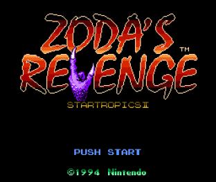 Zoda's Revenge - Startropics 2 NES 001