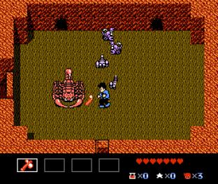 Zoda's Revenge - Startropics 2 NES 064