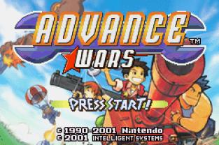Advance Wars GBA 001