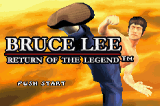 Bruce Lee - Return of the Legend GBA 001