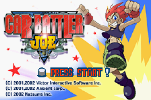 Car Battler Joe GBA 001