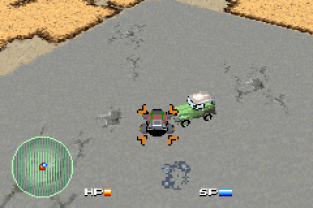 Car Battler Joe GBA 009