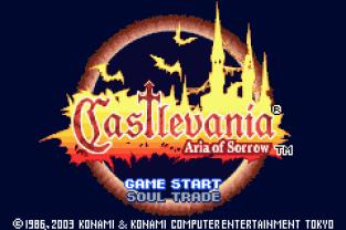 Castlevania - Aria of Sorrow GBA 001