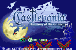 Castlevania - Harmony of Dissonance GBA 001