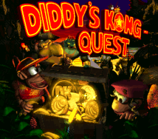 Donkey Kong Country 2 - Diddy's Kong Quest SNES 001