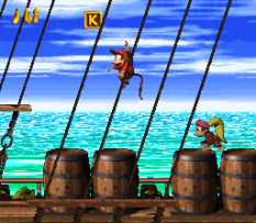 Donkey Kong Country 2 - Diddy's Kong Quest SNES 011