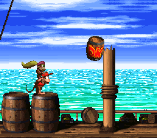 Donkey Kong Country 2 - Diddy's Kong Quest SNES 012
