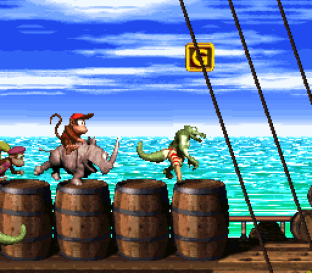 Donkey Kong Country 2 - Diddy's Kong Quest SNES 020