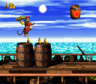 Donkey Kong Country 2 - Diddy's Kong Quest SNES 045