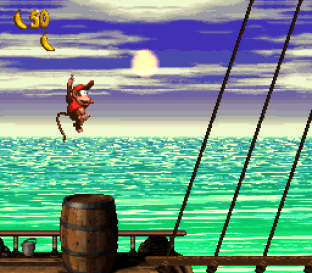 Donkey Kong Country 2 - Diddy's Kong Quest SNES 053