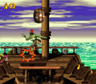 Donkey Kong Country 2 - Diddy's Kong Quest SNES 056