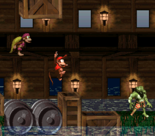 Donkey Kong Country 2 - Diddy's Kong Quest SNES 067